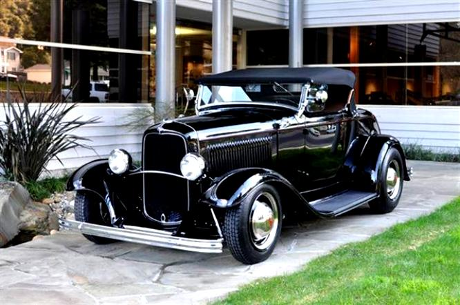 Ford Deluxe Roadster 1932 #3