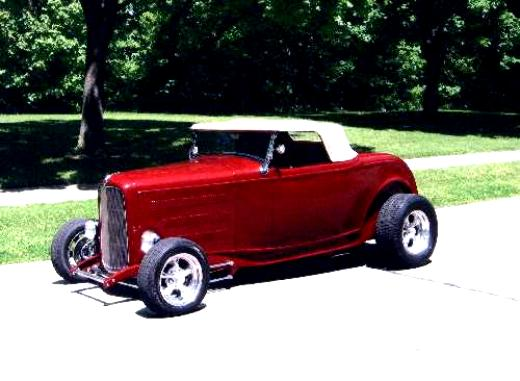 Ford Deluxe Roadster 1932 #8
