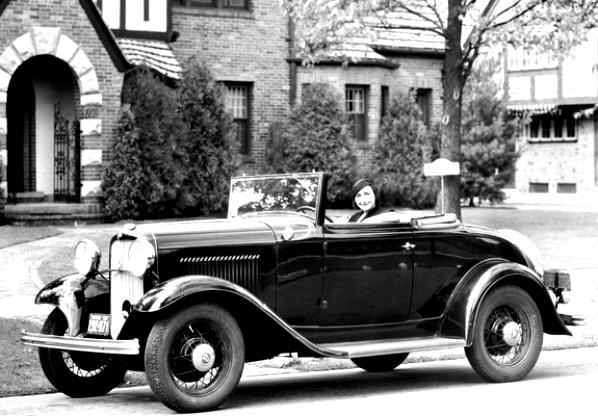 Ford Deluxe Roadster 1932 #11