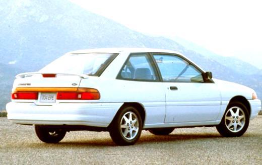 1994 ford escort exterior color