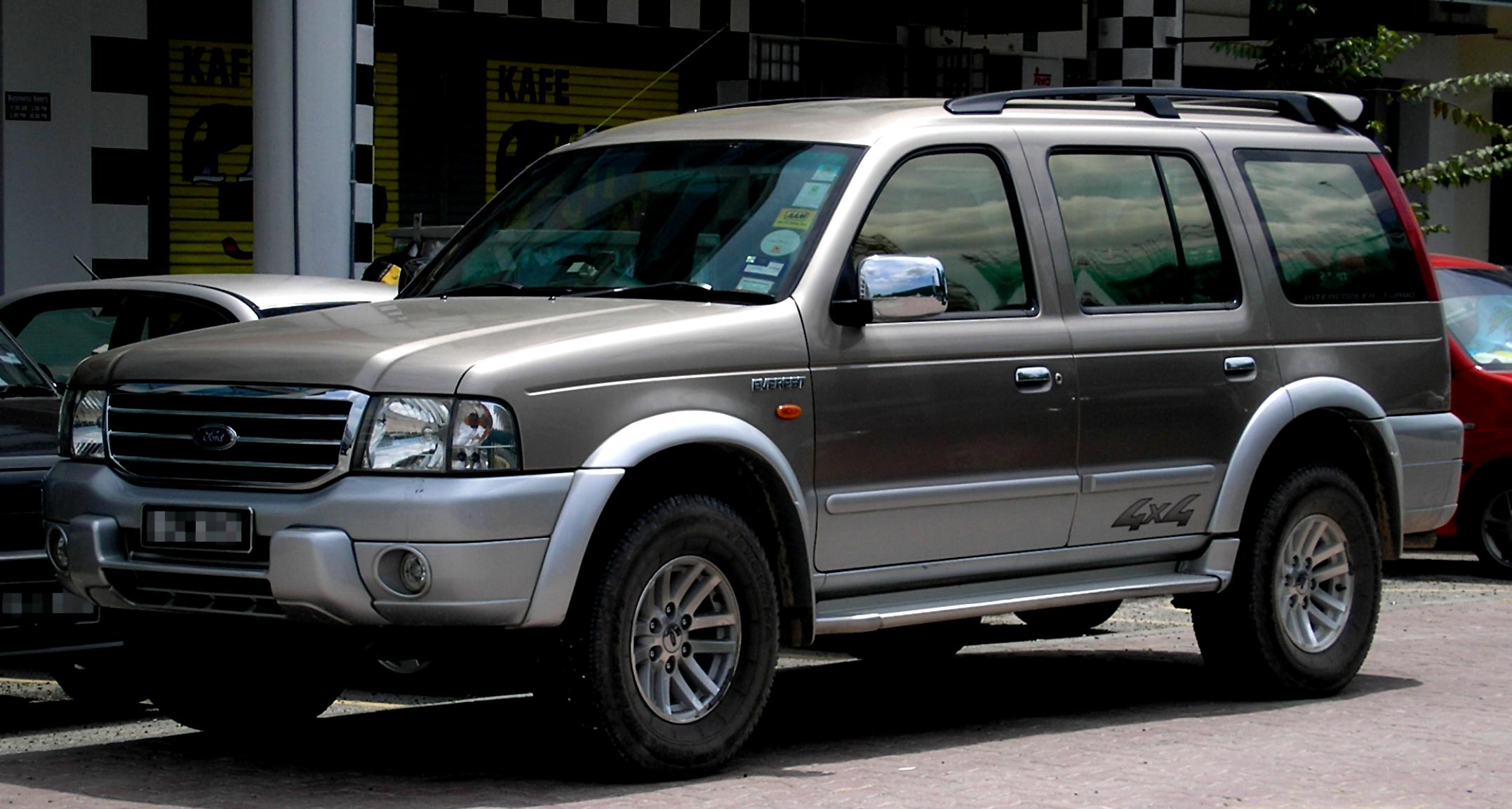Ford everest 2003