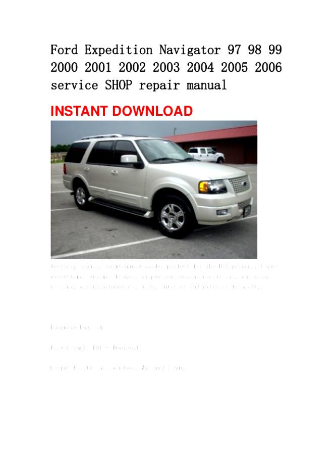 Ford Expedition 2002 #65