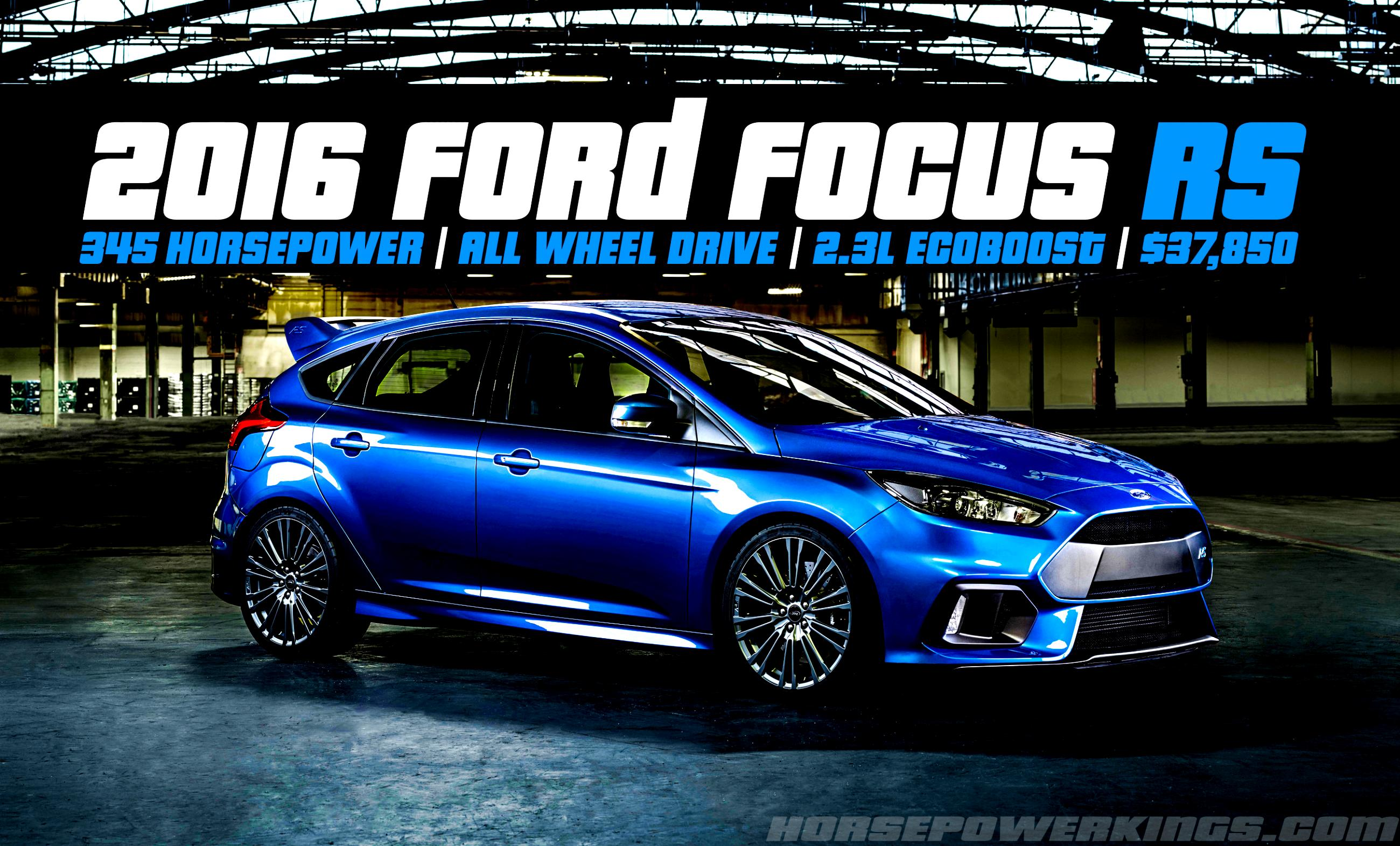 Ford Focus RS 2016 #49