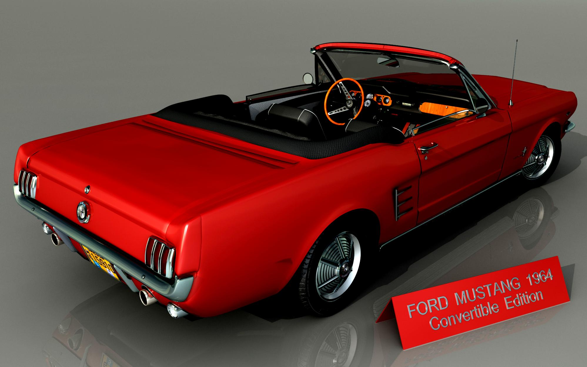 Ford Mustang Convertible 1964 On Ltd 55