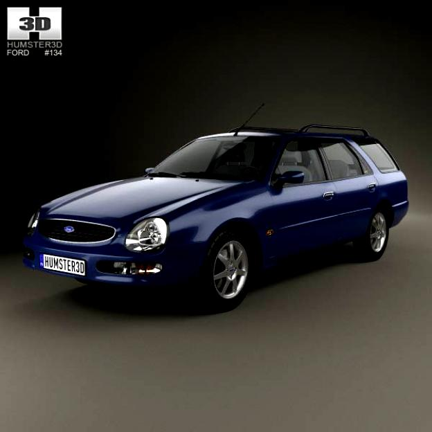 Ford Scorpio Wagon 1994 #9