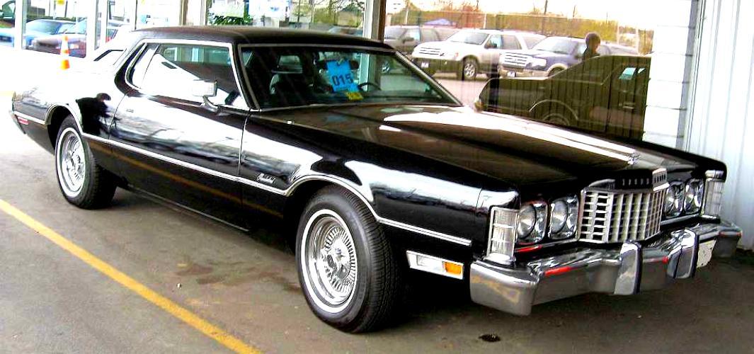 Ford Thunderbird 1972 6