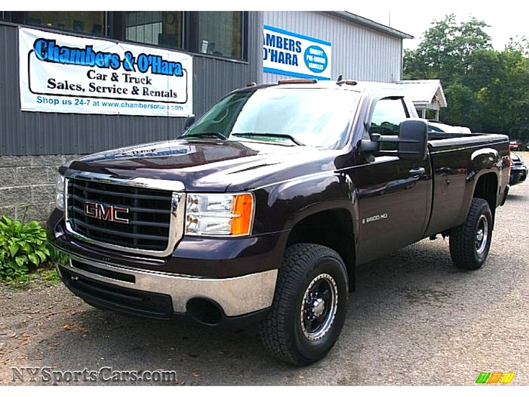 gmc sierra 2500hd regular cab 2008 on. Black Bedroom Furniture Sets. Home Design Ideas