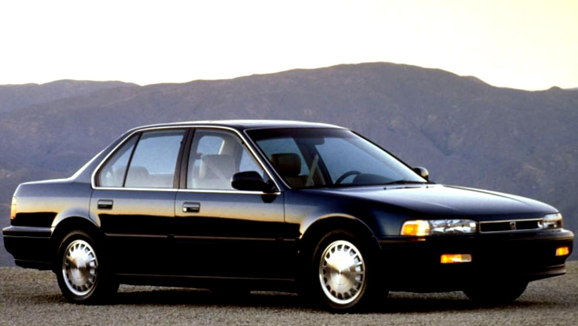 Honda Accord 4 Doors 1989 #8