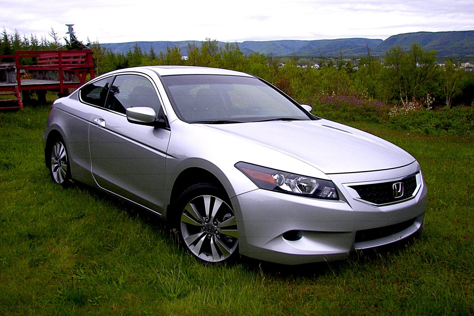Honda Accord Coupe US 2008 #2