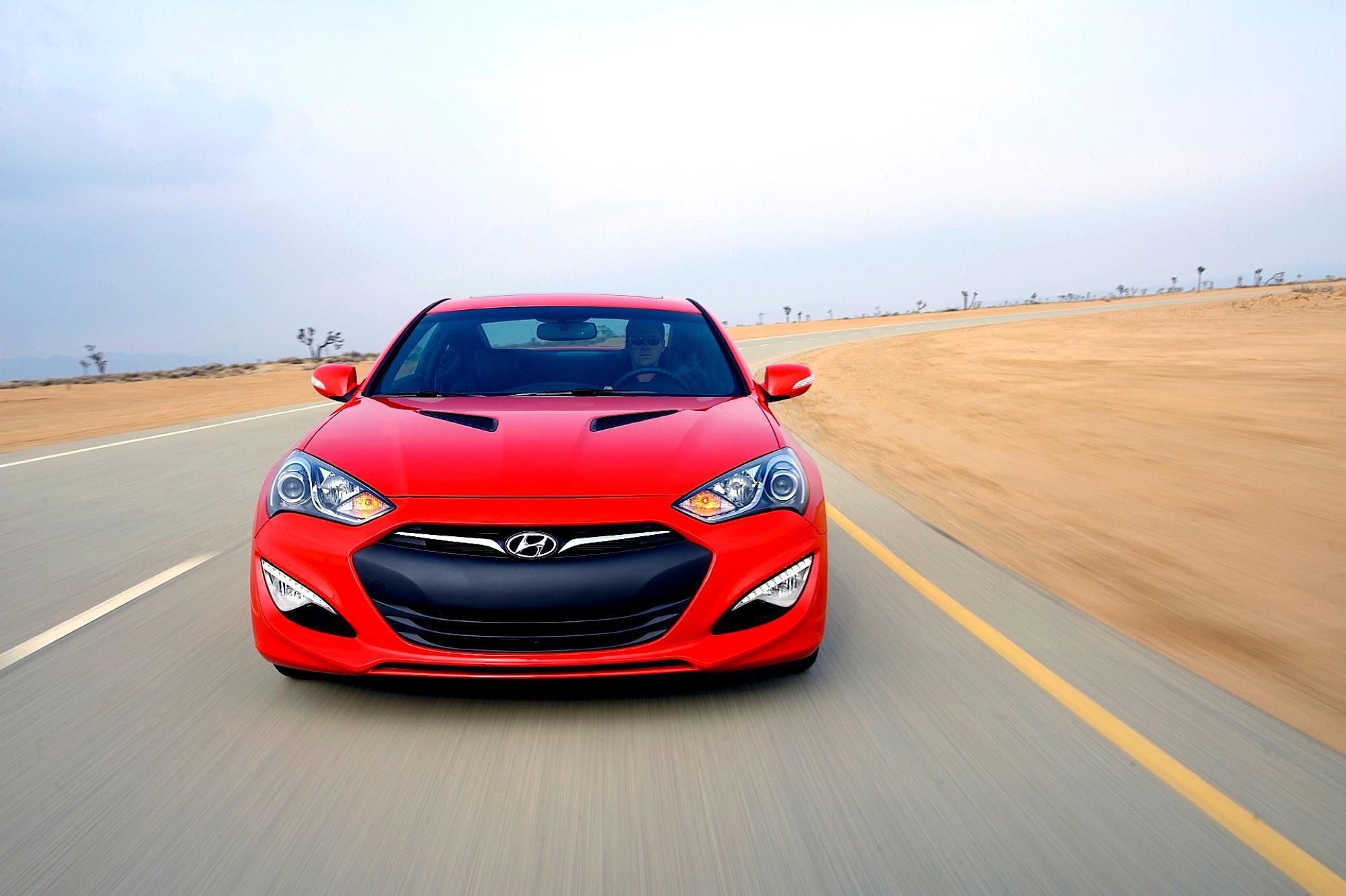 ... Hyundai Genesis Coupe 2008 #16 ...