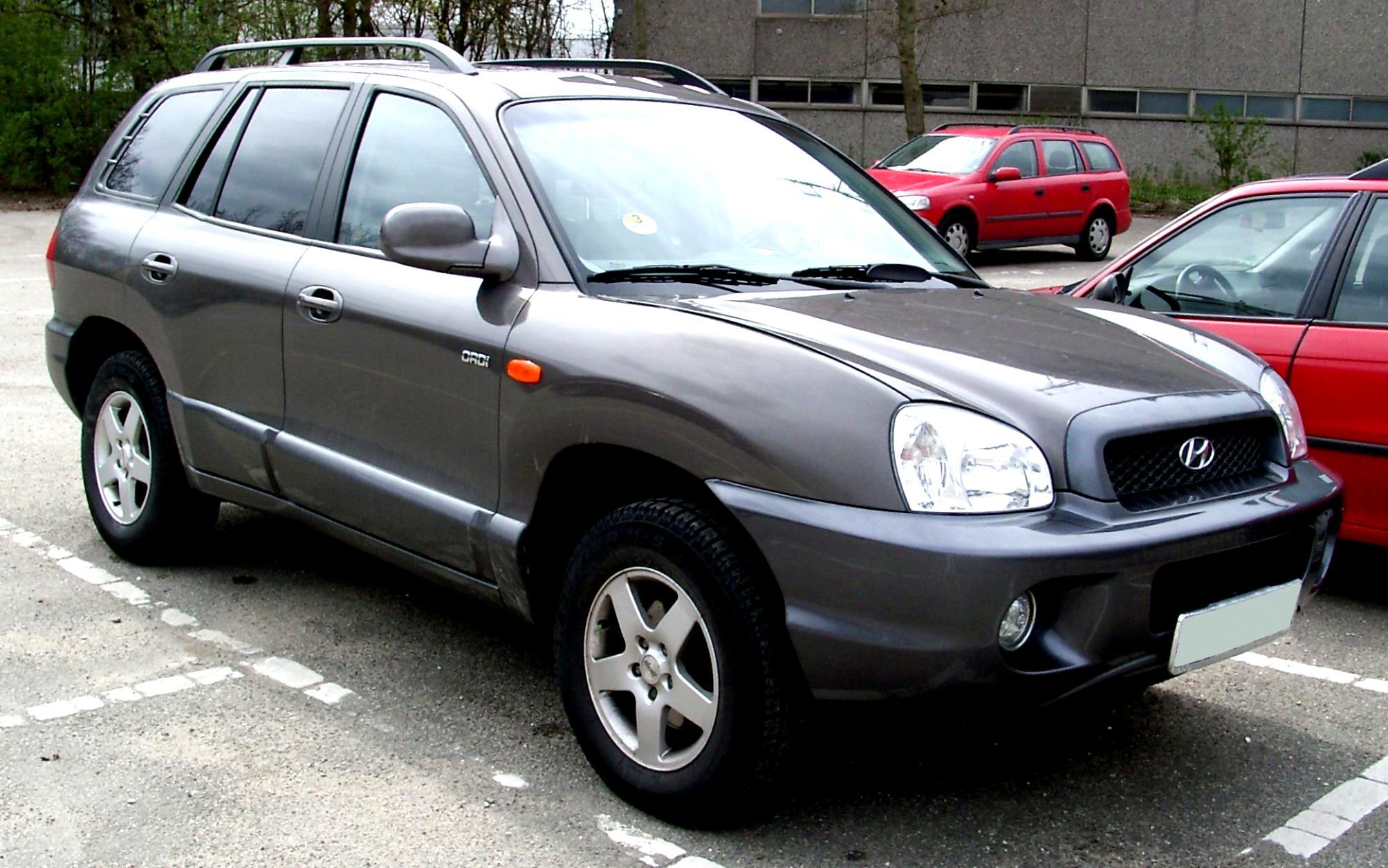 Hyundai Santa Fe 2000 #1