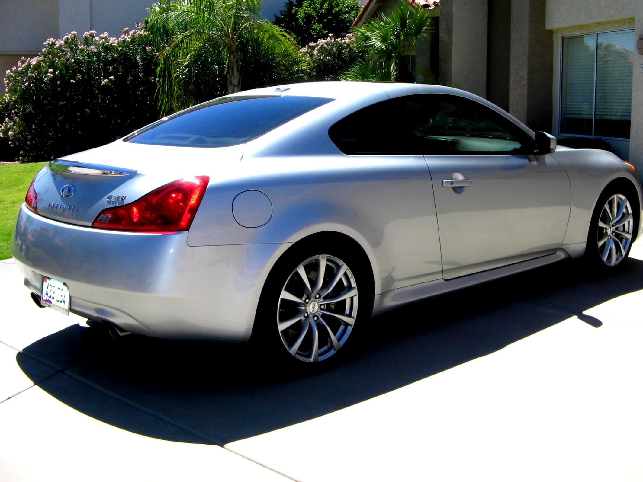 infiniti g37 coupe 2008 on. Black Bedroom Furniture Sets. Home Design Ideas