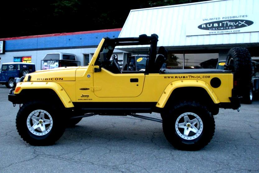 Jeep Wrangler Unlimited Rubicon 2006 #30