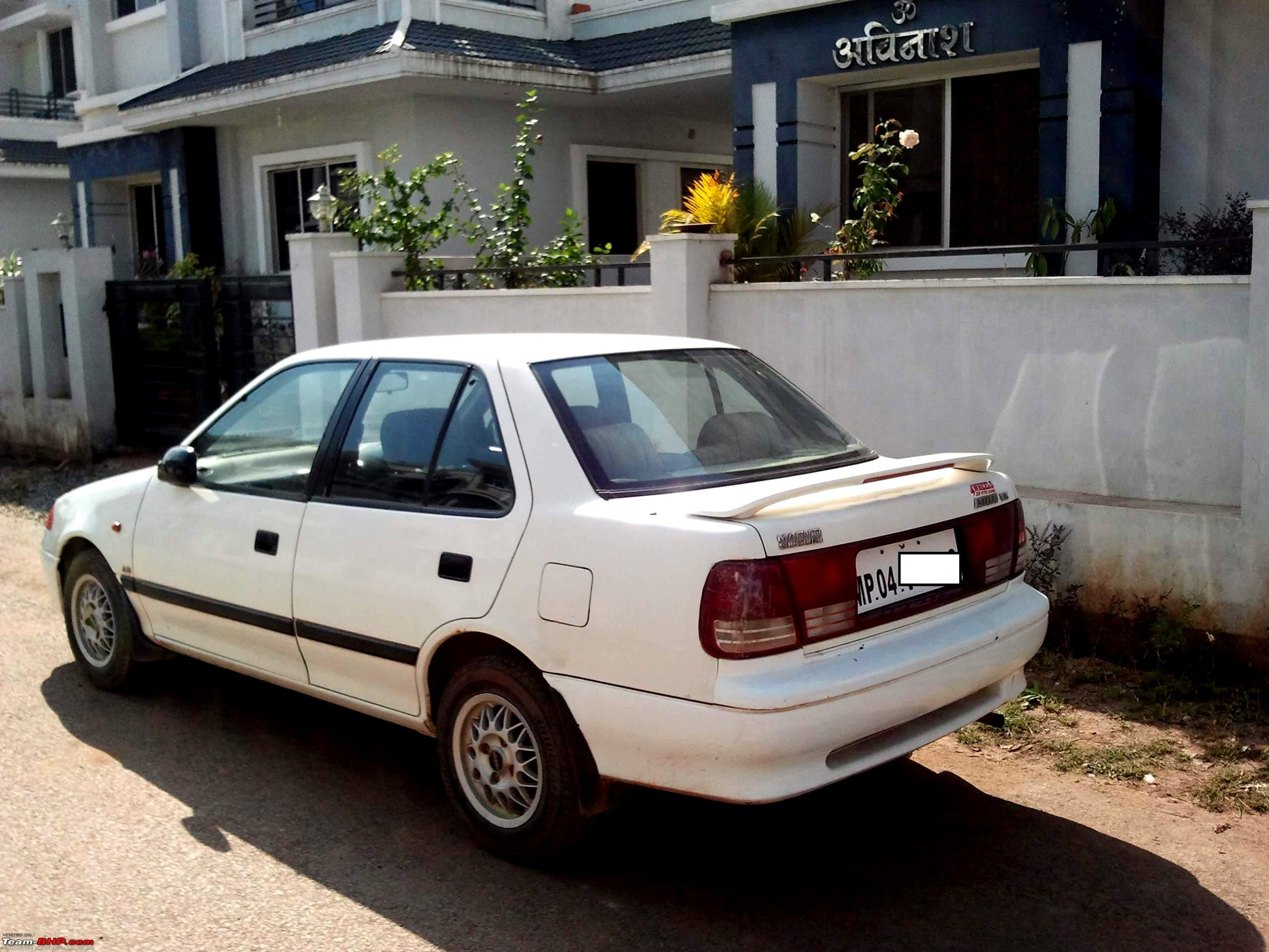Suzuki Esteem Wagon Tire Size
