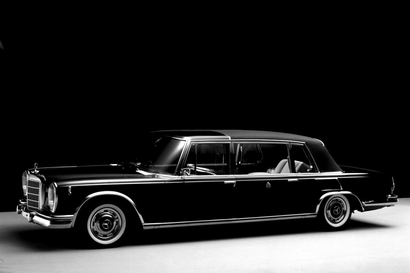 Mercedes benz 600 w100 1964 on for Mercedes benz 600