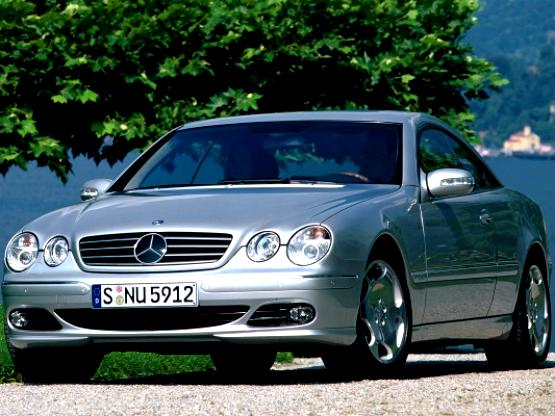 Mercedes Benz CL C215 2002 #5
