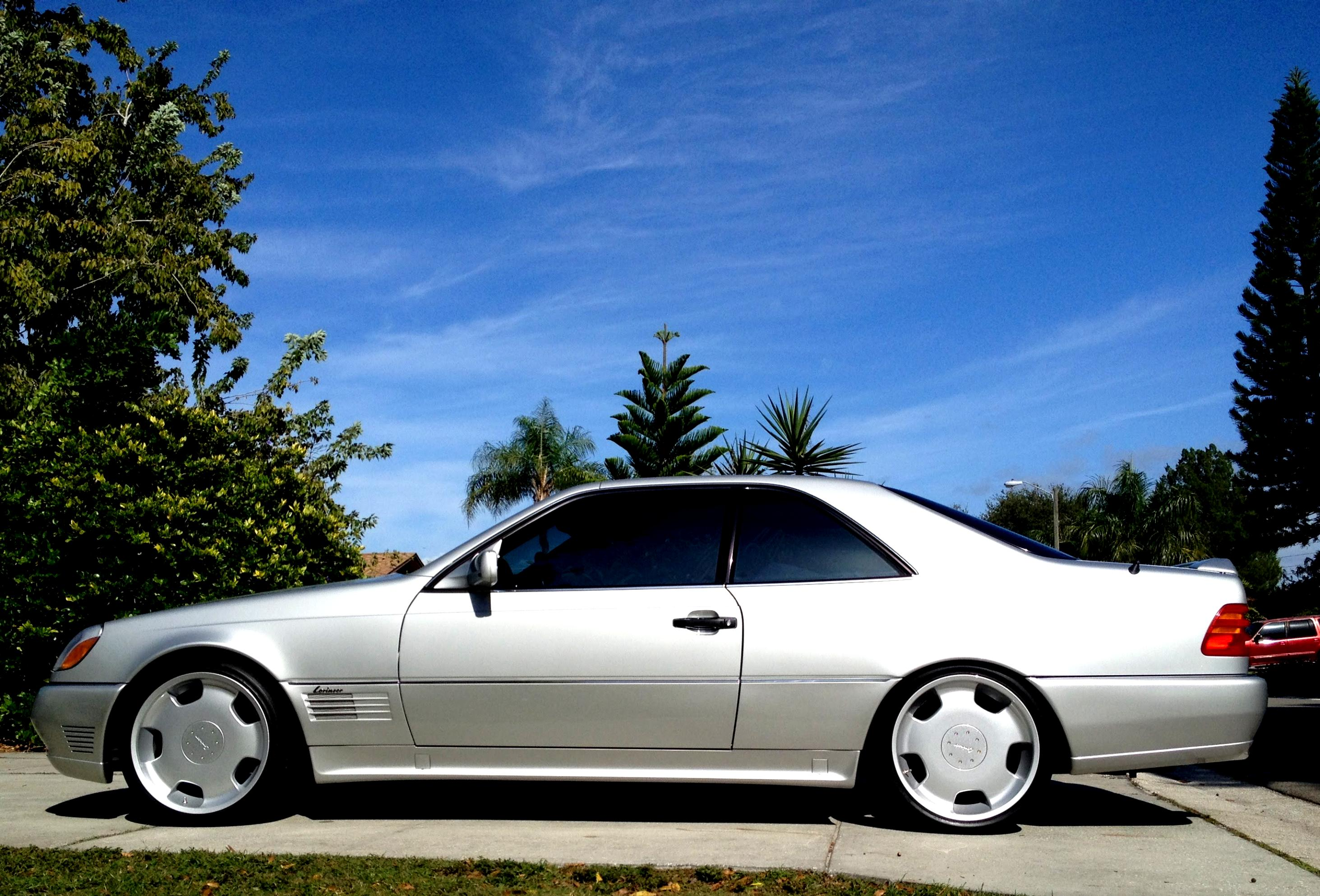 Mercedes benz cl coupe c140 1996 on for Mercedes benz cl 250 coupe