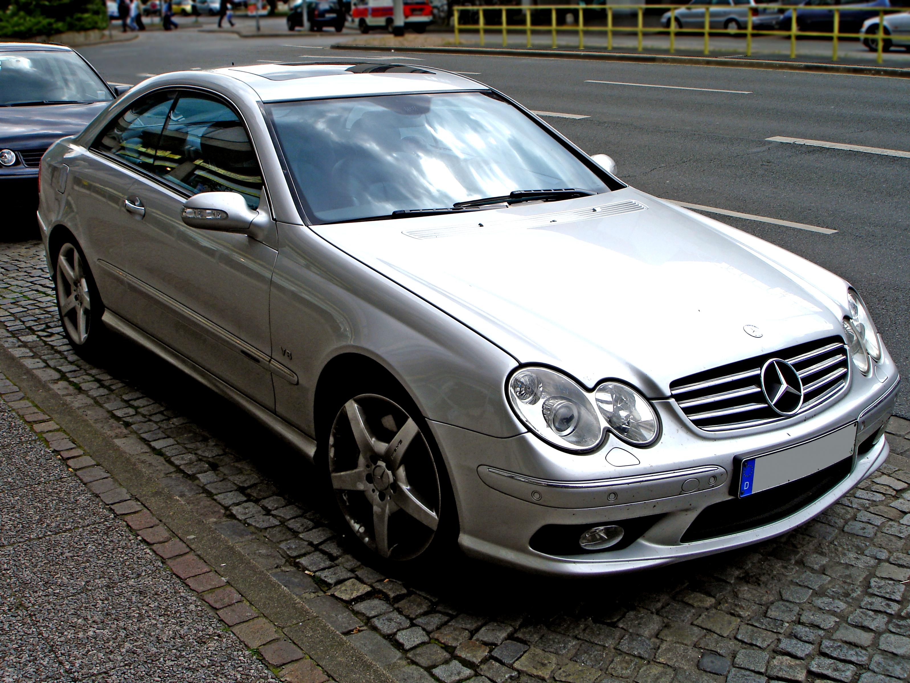 Mercedes benz clk 55 amg c209 2003 on for 2003 mercedes benz clk