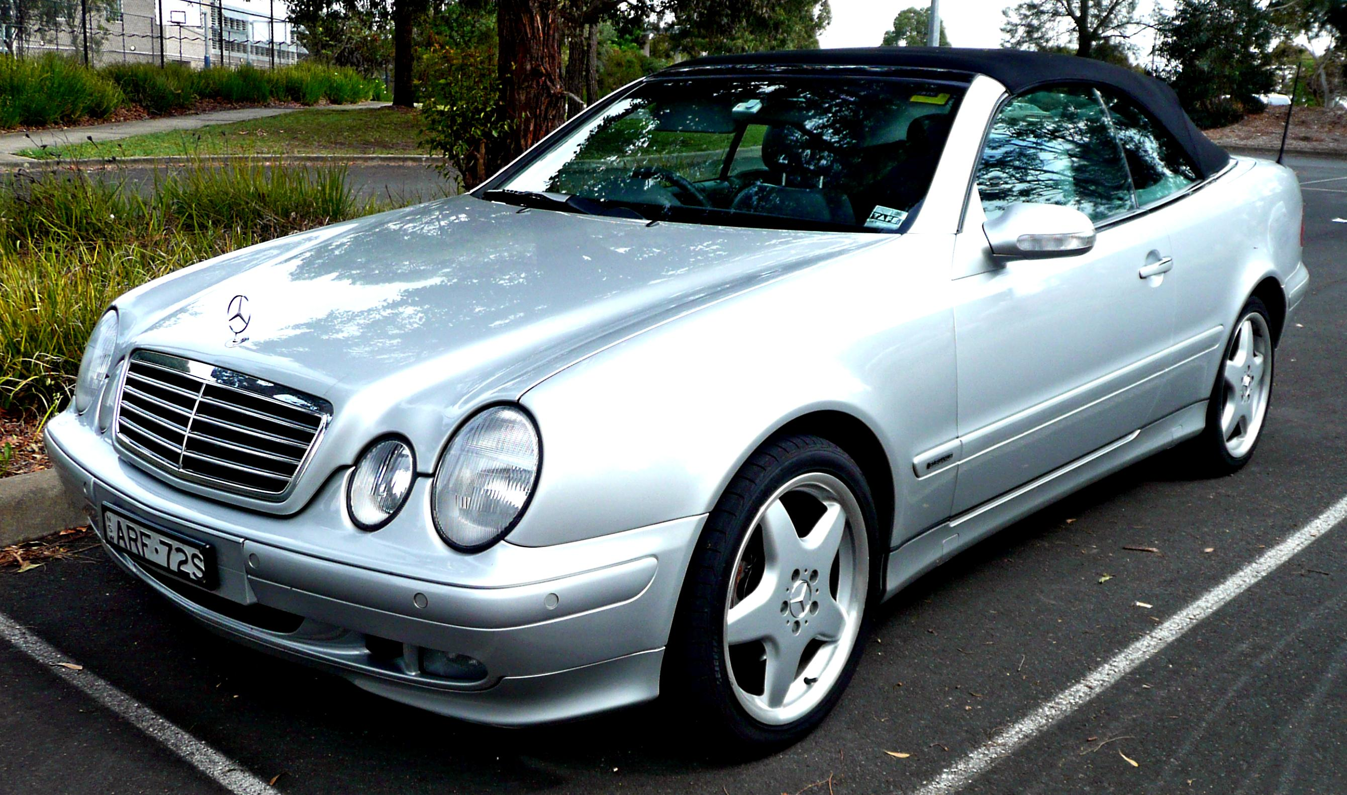 mercedes benz clk 55 amg cabrio a209 2003 on. Black Bedroom Furniture Sets. Home Design Ideas