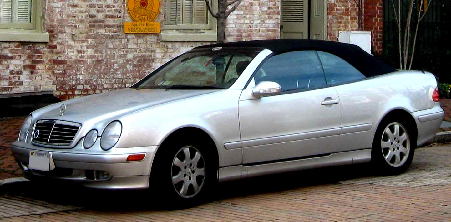 Mercedes Benz Clk Cabrio A208 1999 On Motoimg Com