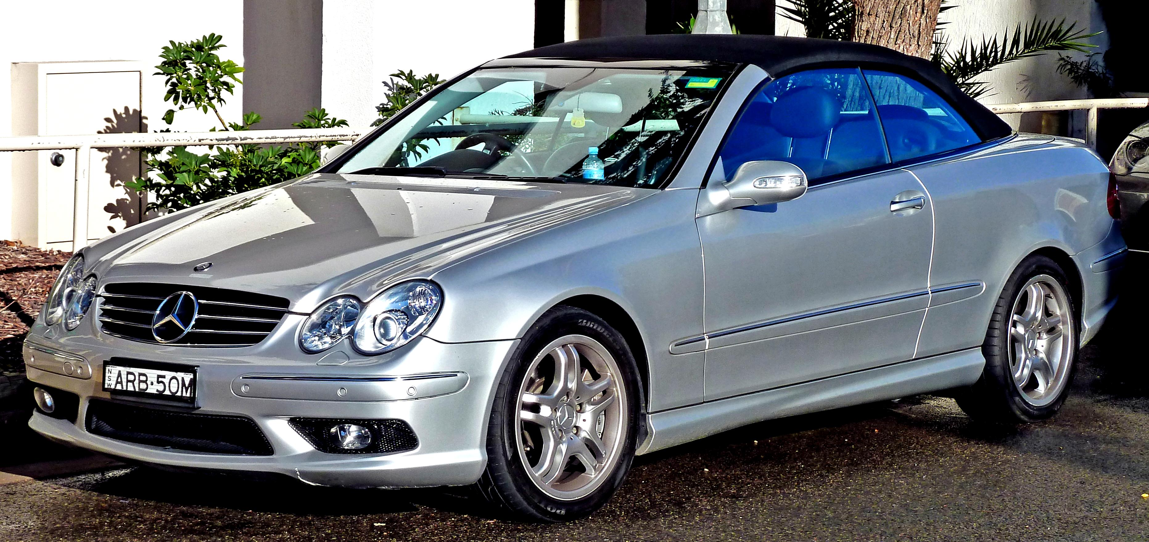 mercedes benz clk cabrio a209 2003 on. Black Bedroom Furniture Sets. Home Design Ideas