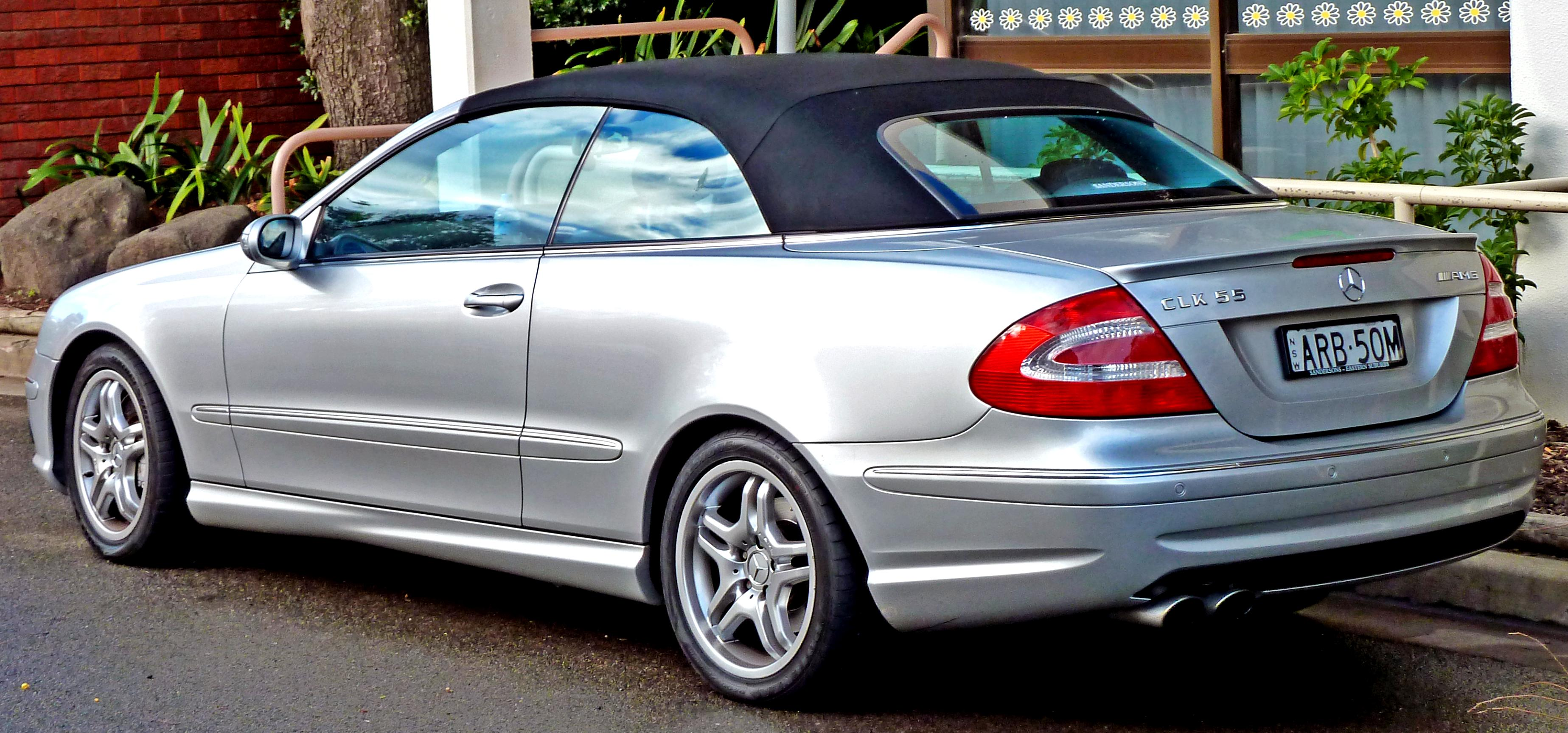 Mercedes benz clk cabrio a209 2005 on for Mercedes benz clk