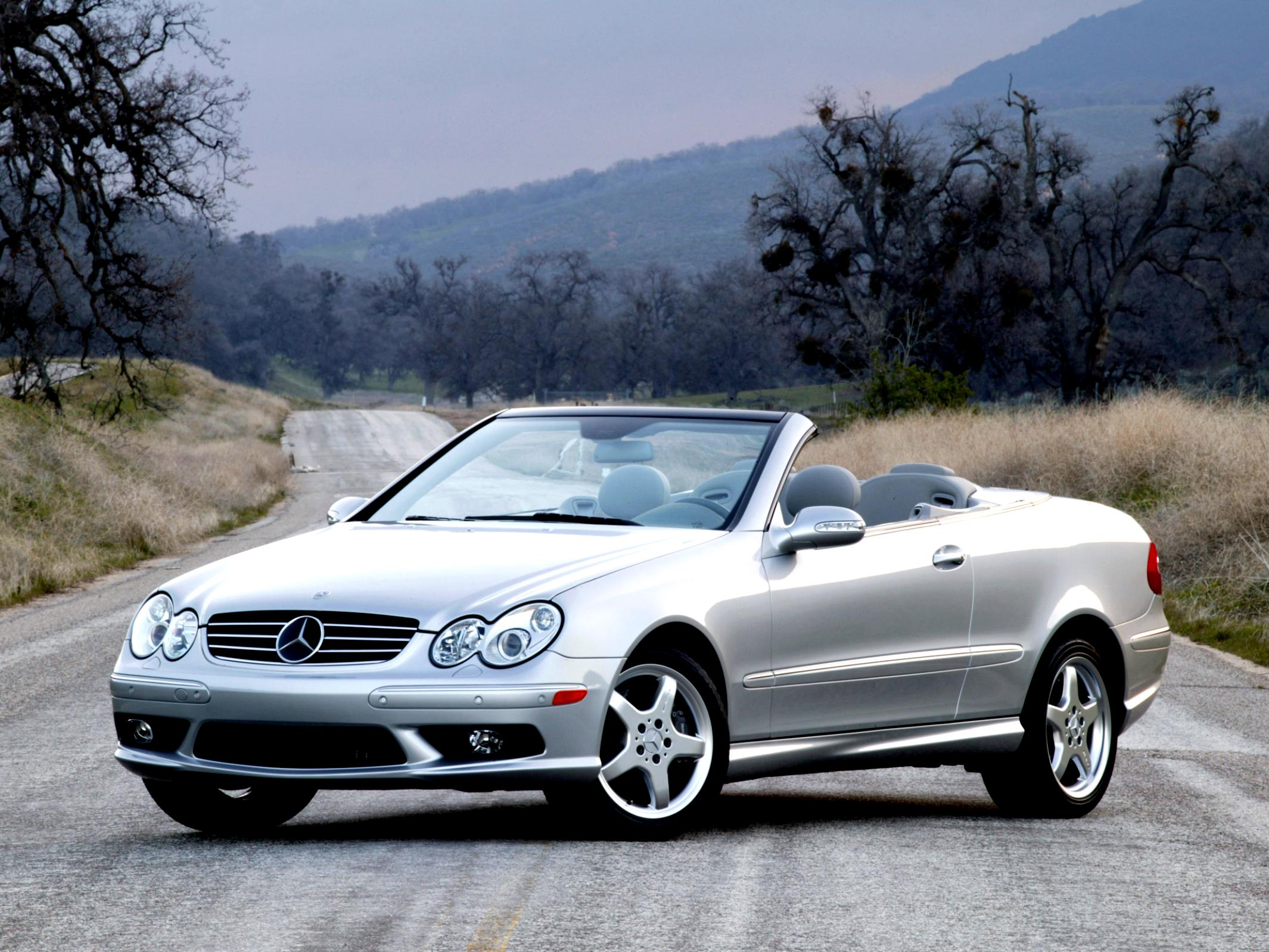 mercedes benz clk cabrio a209 2005 on. Black Bedroom Furniture Sets. Home Design Ideas