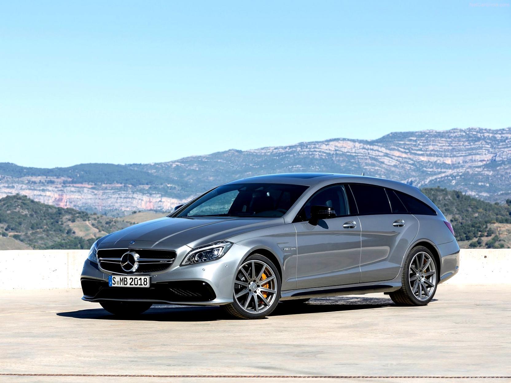 Mercedes benz cls shooting brake amg 2014 on for 2014 mercedes benz cls550 0 60