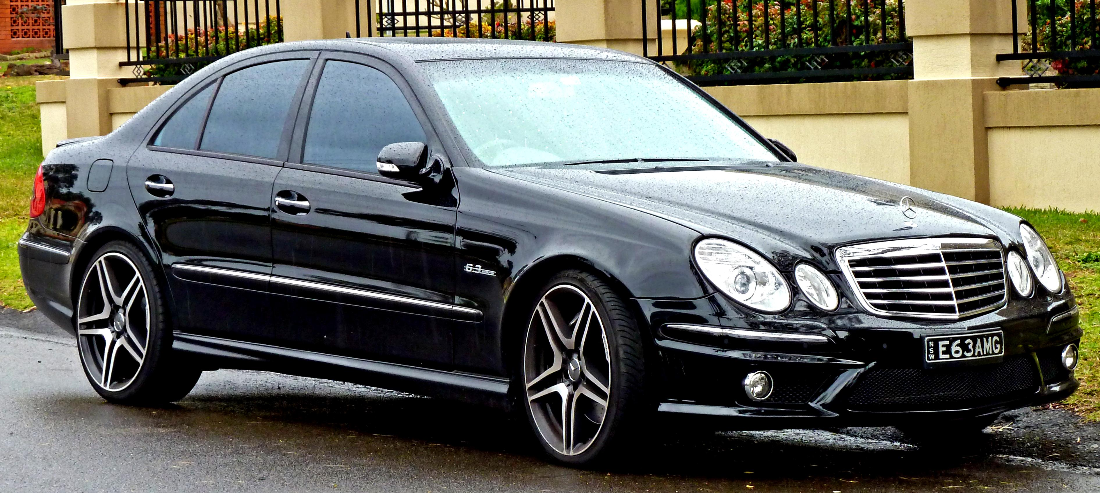 Mercedes Benz E 55 Amg W211 2002 On Motoimg Com