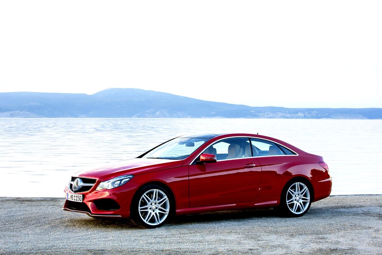 Mercedes Benz E-Klasse Coupe C207 2013 #4