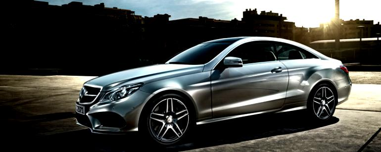 Mercedes Benz E-Klasse Coupe C207 2013 #12