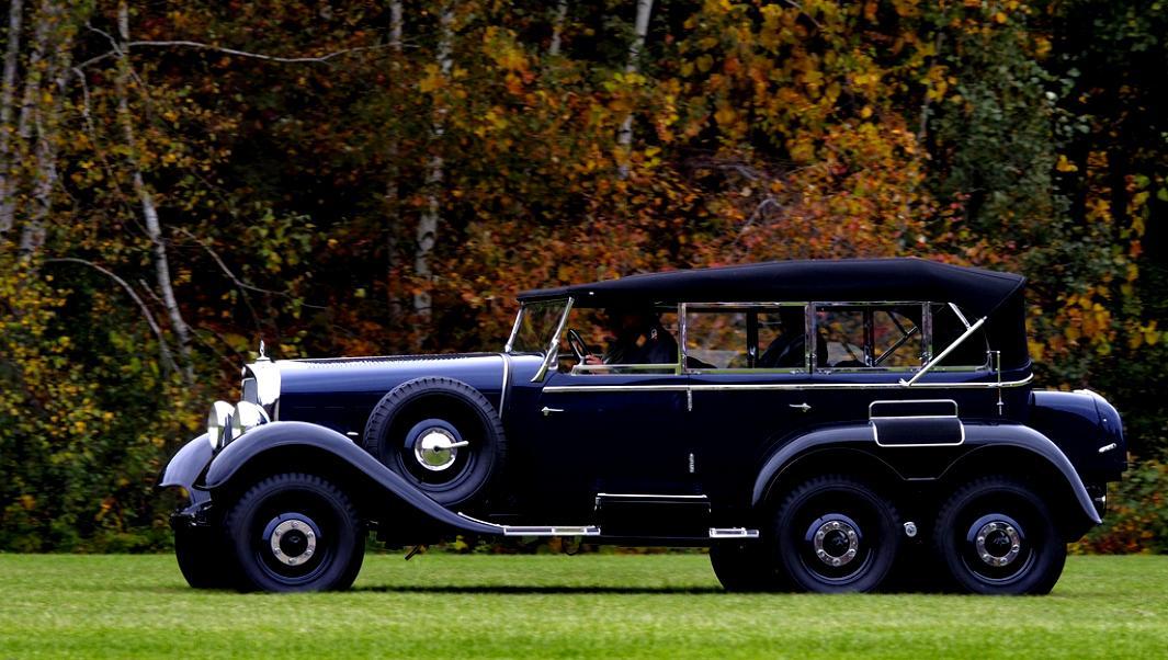 Mercedes benz g4 w31 1934 on for Mercedes benz staff