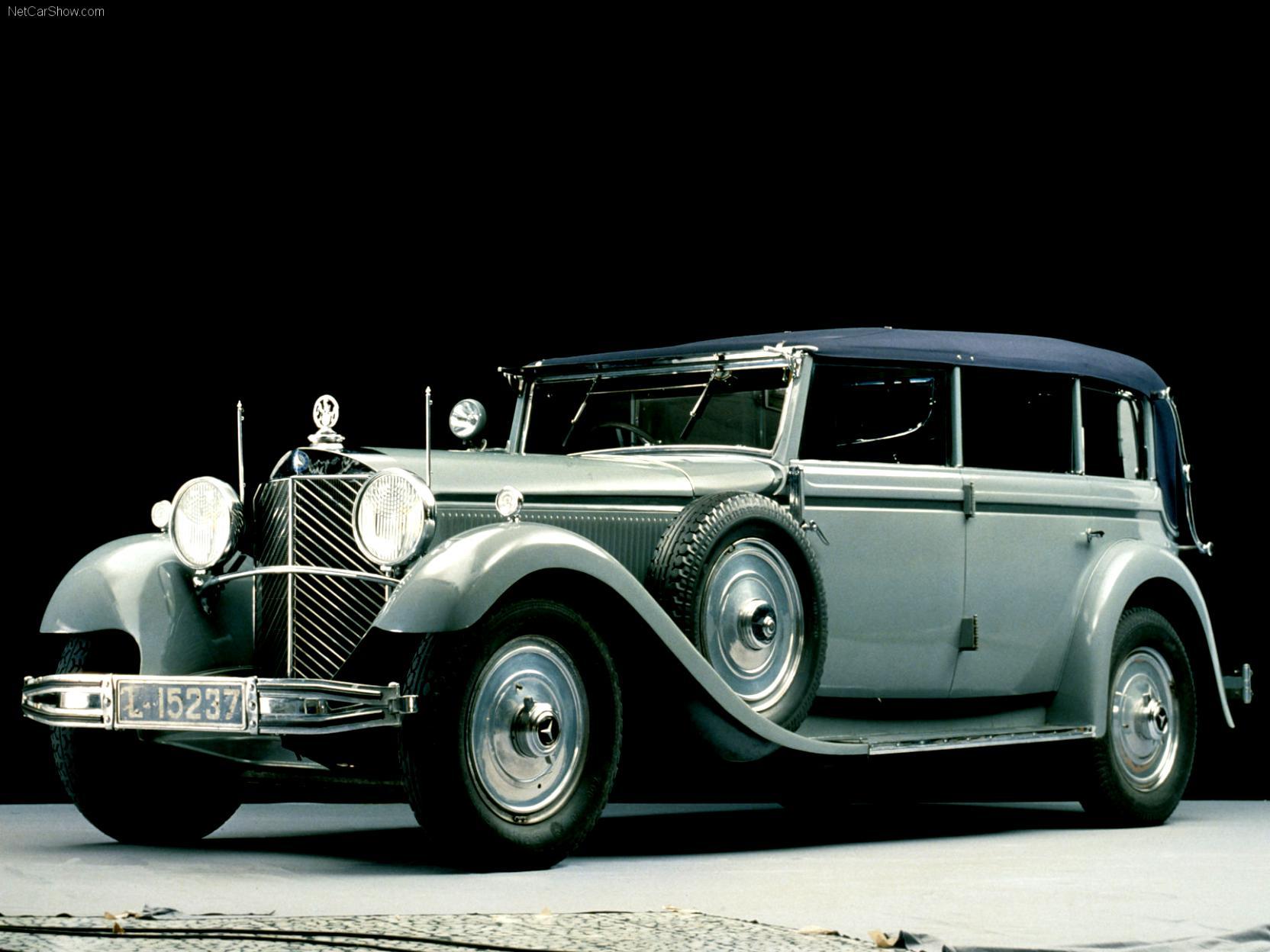 """Mercedes Benz """"Grosser Mercedes"""" Cabriolet C W07 1932 on ..."""