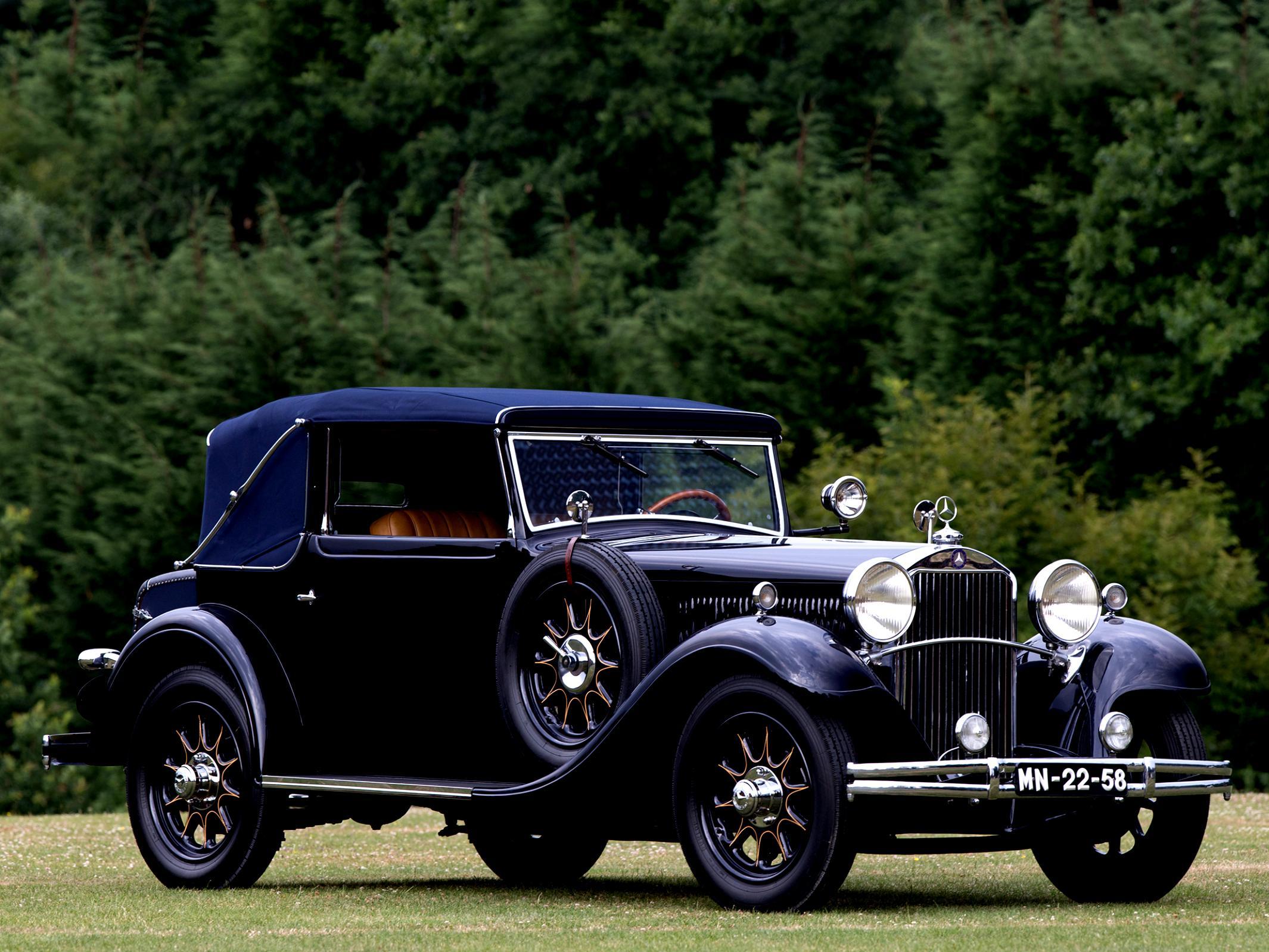 mercedes benz grosser mercedes cabriolet f w07 1931 on. Black Bedroom Furniture Sets. Home Design Ideas