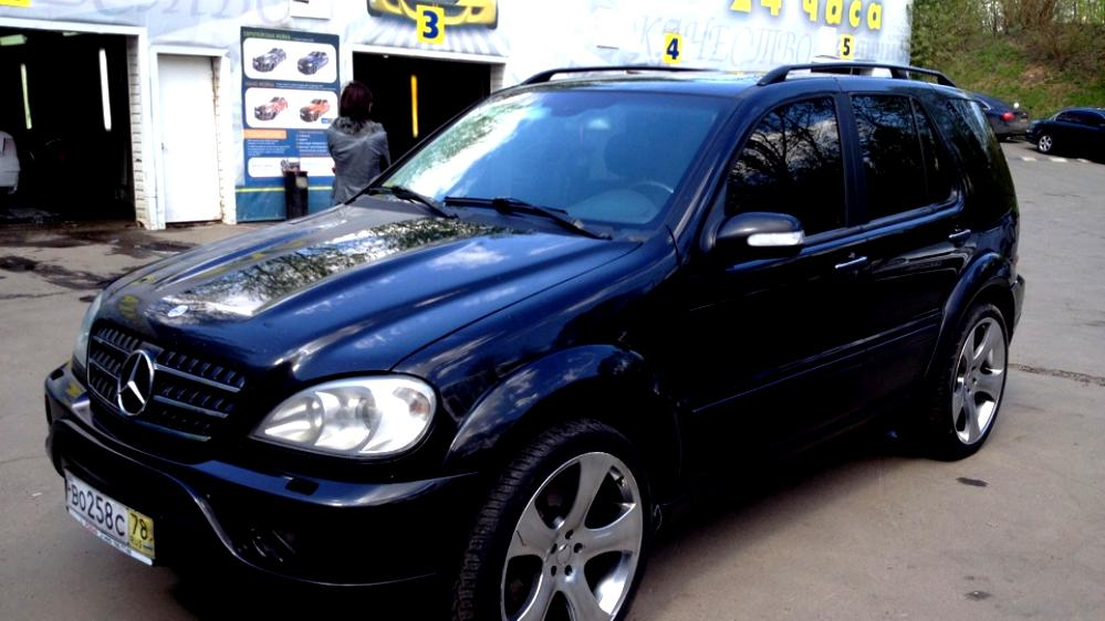 Mercedes benz ml 55 amg w163 2002 on for Mercedes benz ml55 amg