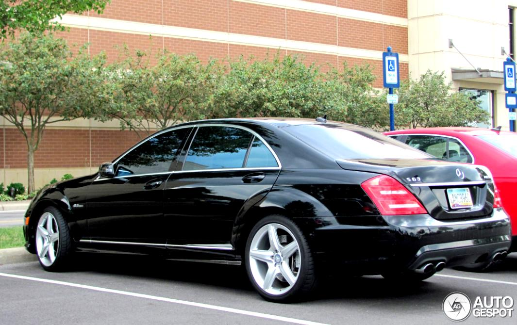 Mercedes benz s 63 amg w221 2009 on for 2009 mercedes benz s550 amg