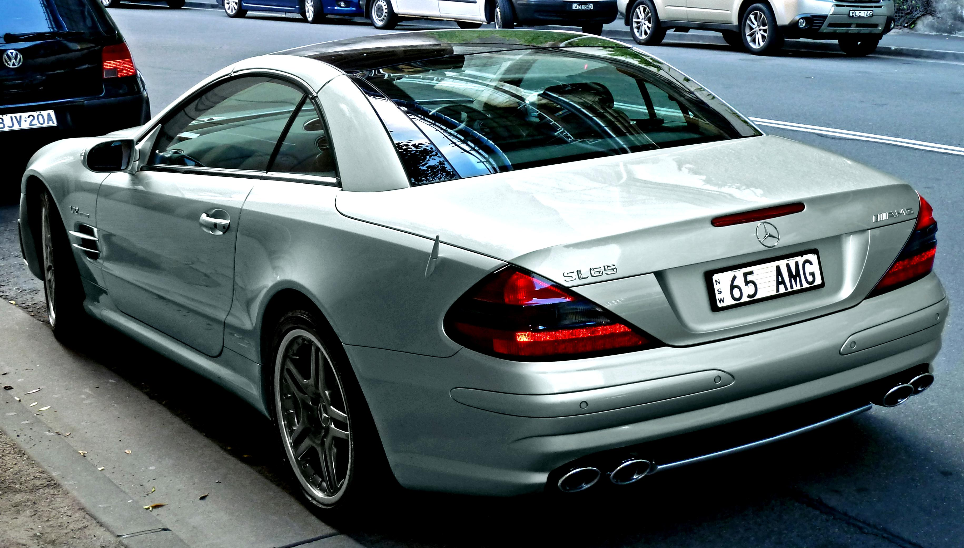Mercedes benz sl 65 amg r230 2004 on for Mercedes benz sl r230