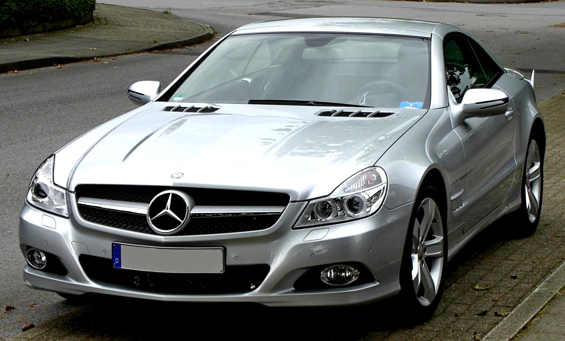 Mercedes benz sl 65 amg r230 2008 on for 2008 mercedes benz sl500