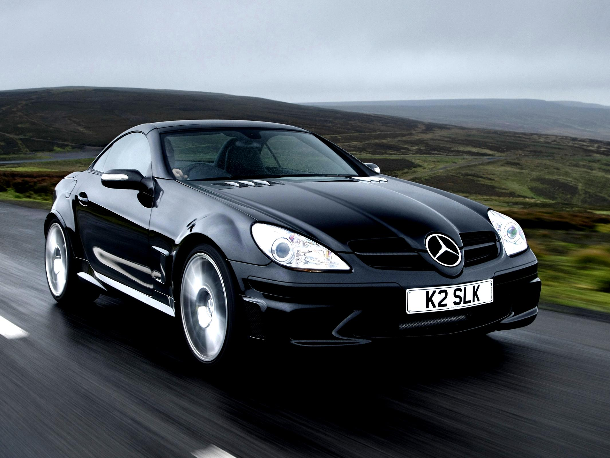 Mercedes benz slk 55 amg black series r171 2006 on for Mercedes benz slk 55