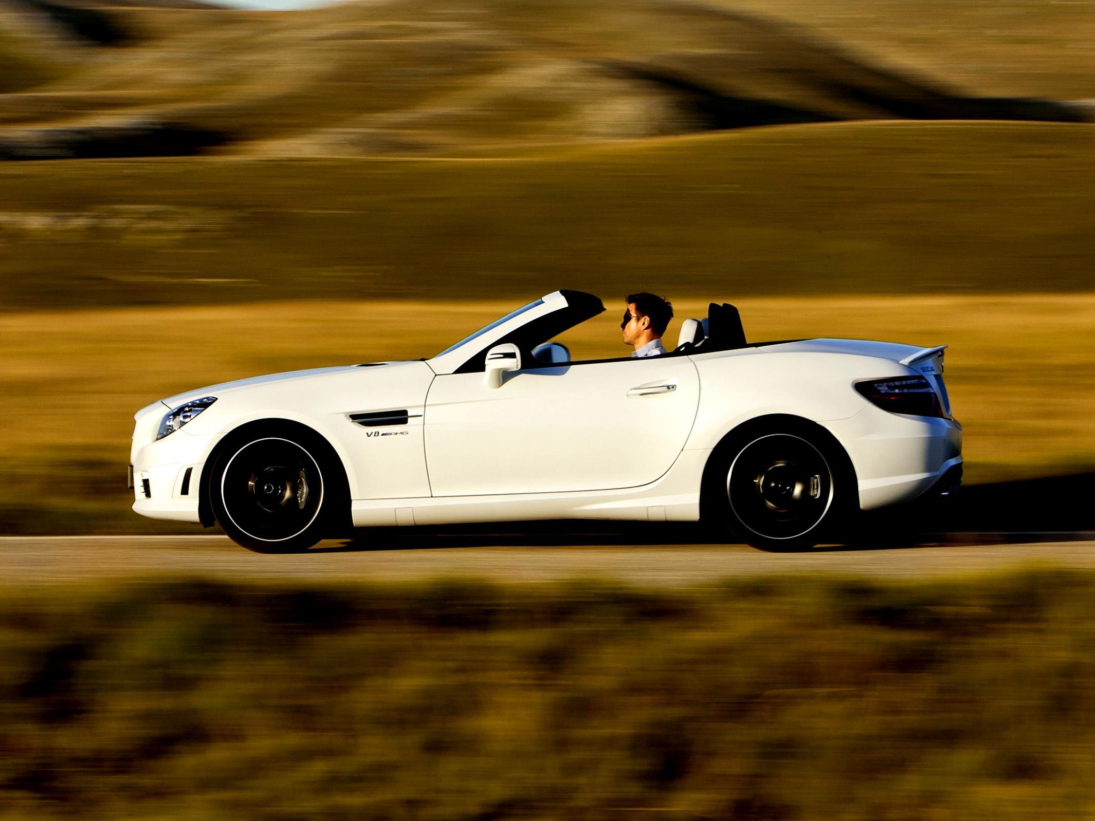 Mercedes benz slk 55 amg r172 2012 photos 31 on for 2012 mercedes benz slk