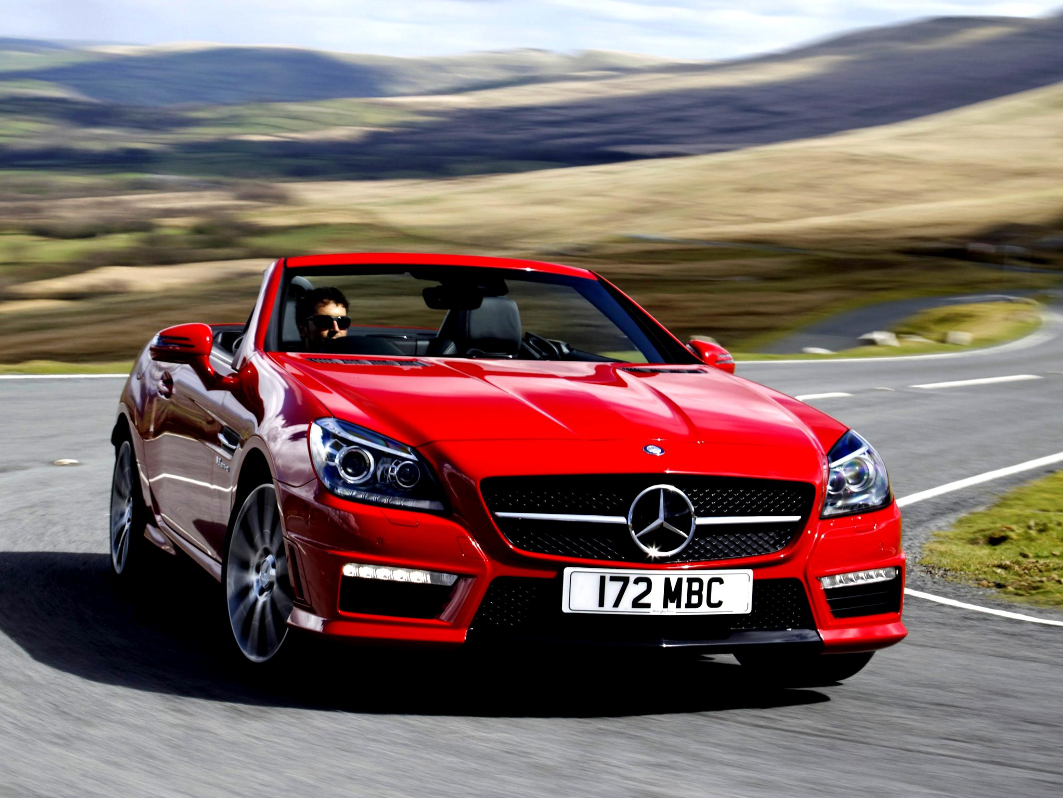 mercedes benz slk 55 amg r172 2012 on. Black Bedroom Furniture Sets. Home Design Ideas