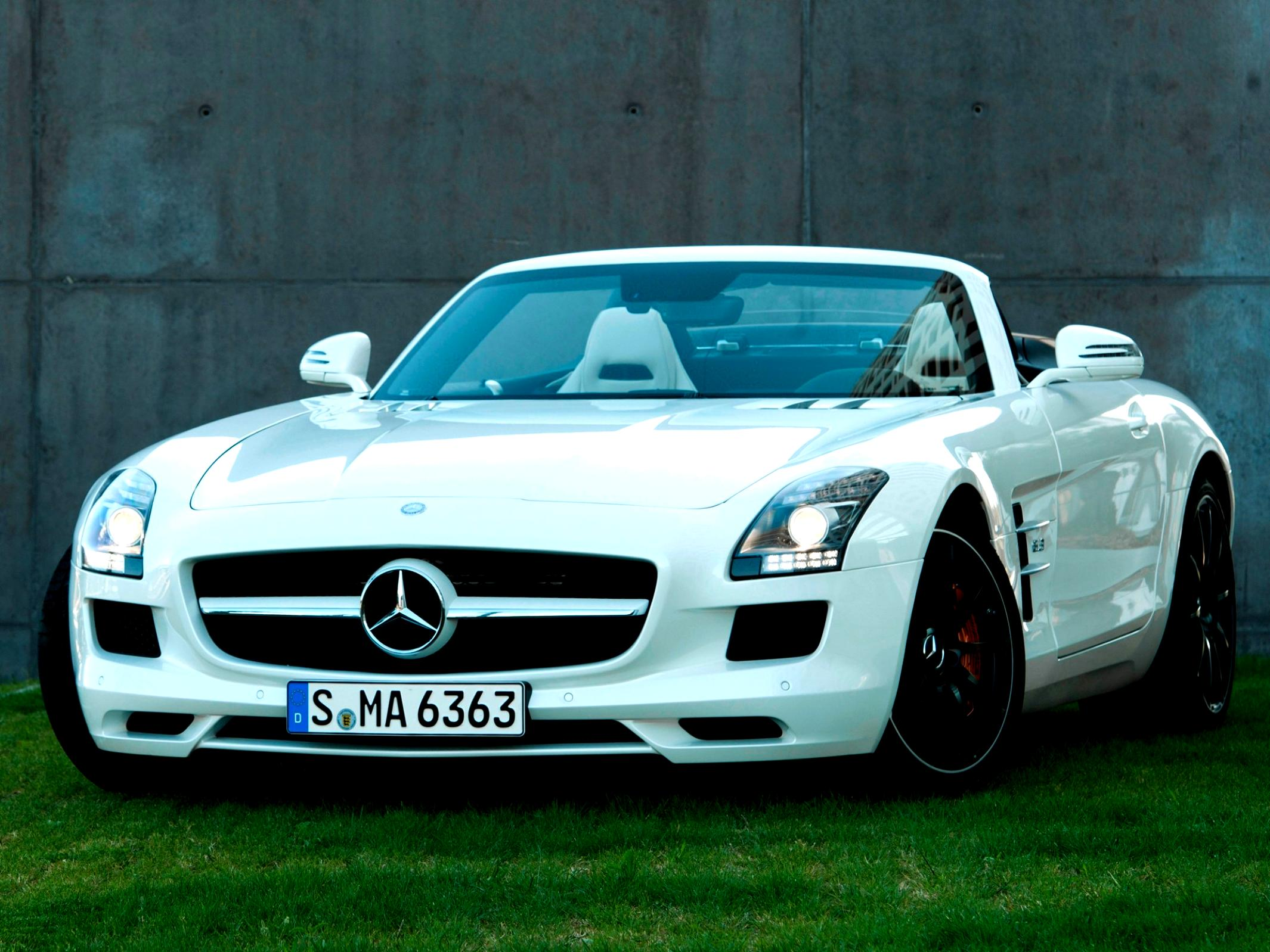 Mercedes Benz SLS AMG Roadster C197 2011 #38