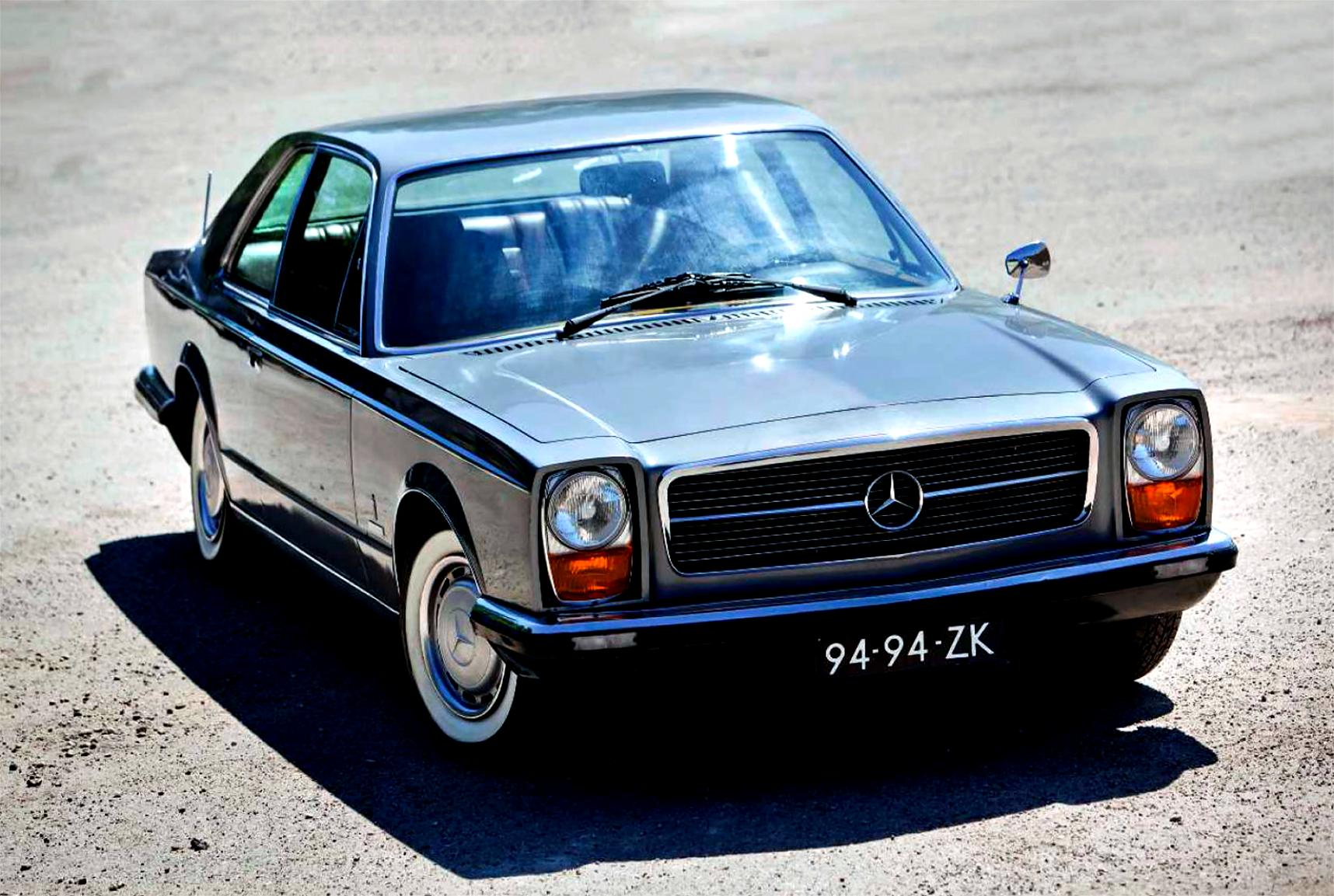 mercedes benz strich acht coupe c114 1969 on. Black Bedroom Furniture Sets. Home Design Ideas