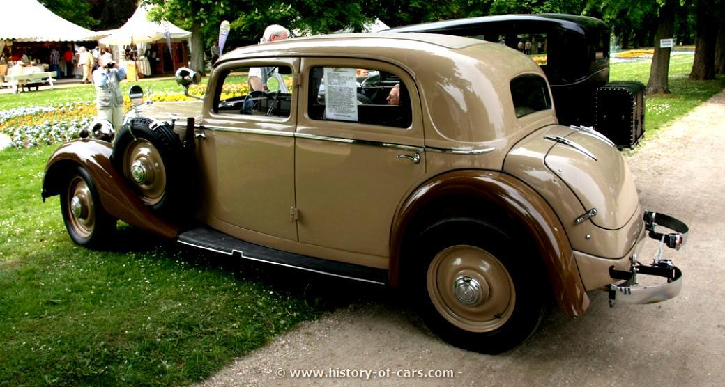 Mercedes Benz Typ 200 Cabriolet A W21 1934 On Motoimg Com