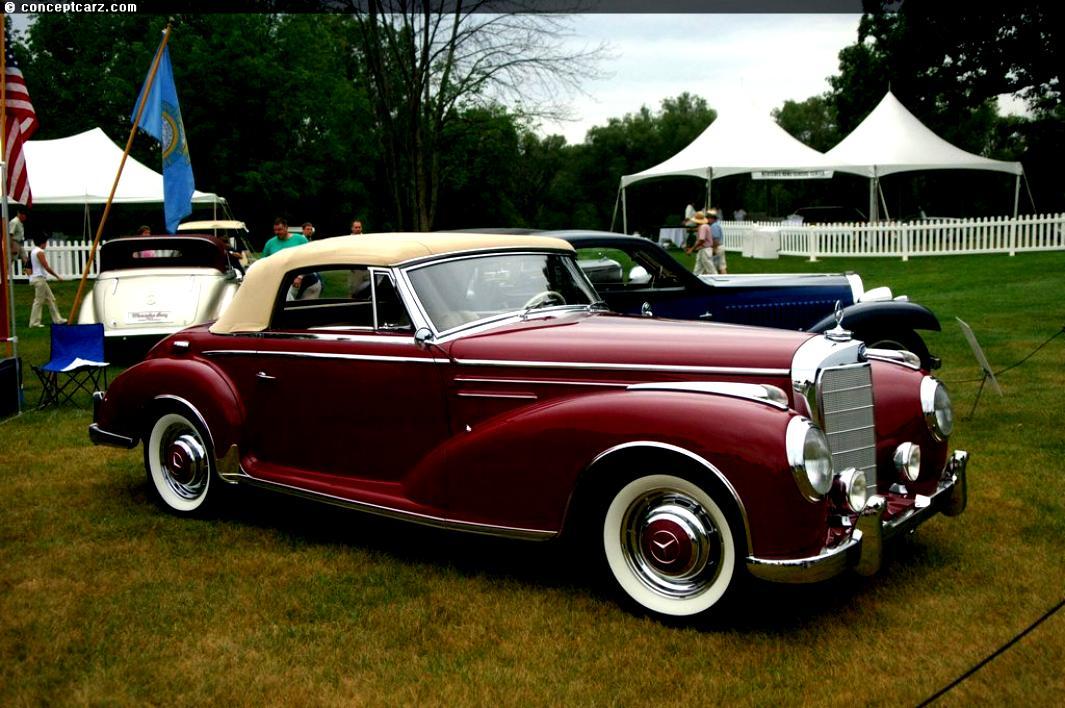 mercedes benz typ 300 d cabriolet d w186 1952 on. Black Bedroom Furniture Sets. Home Design Ideas