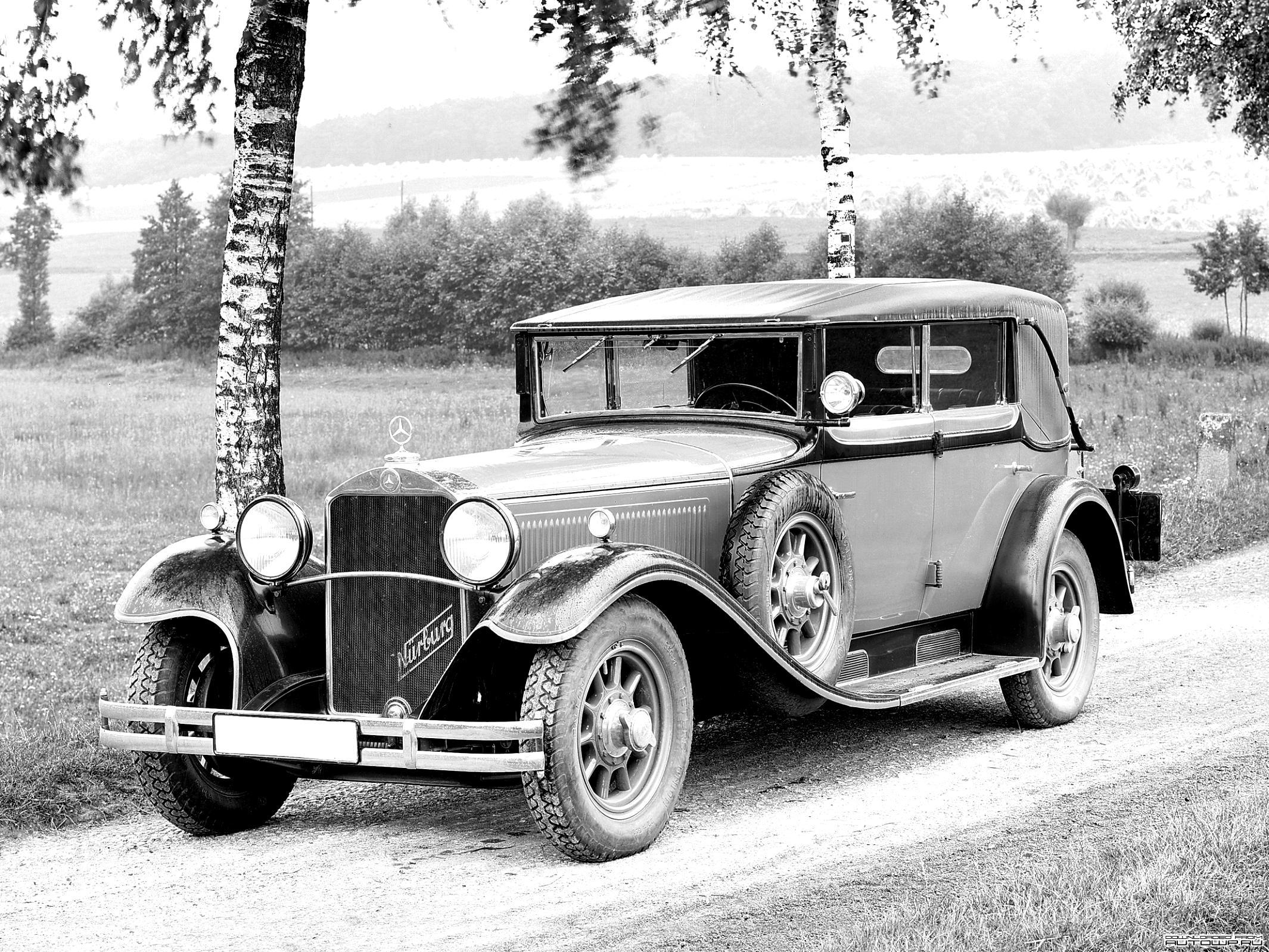 Mercedes benz typ nurburg sport roadster w08 1928 on for 1928 mercedes benz