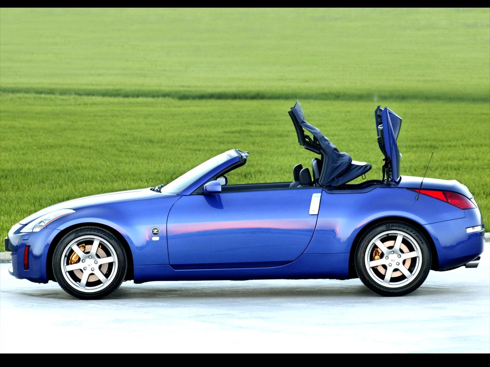 nissan 350z roadster 2005 on. Black Bedroom Furniture Sets. Home Design Ideas