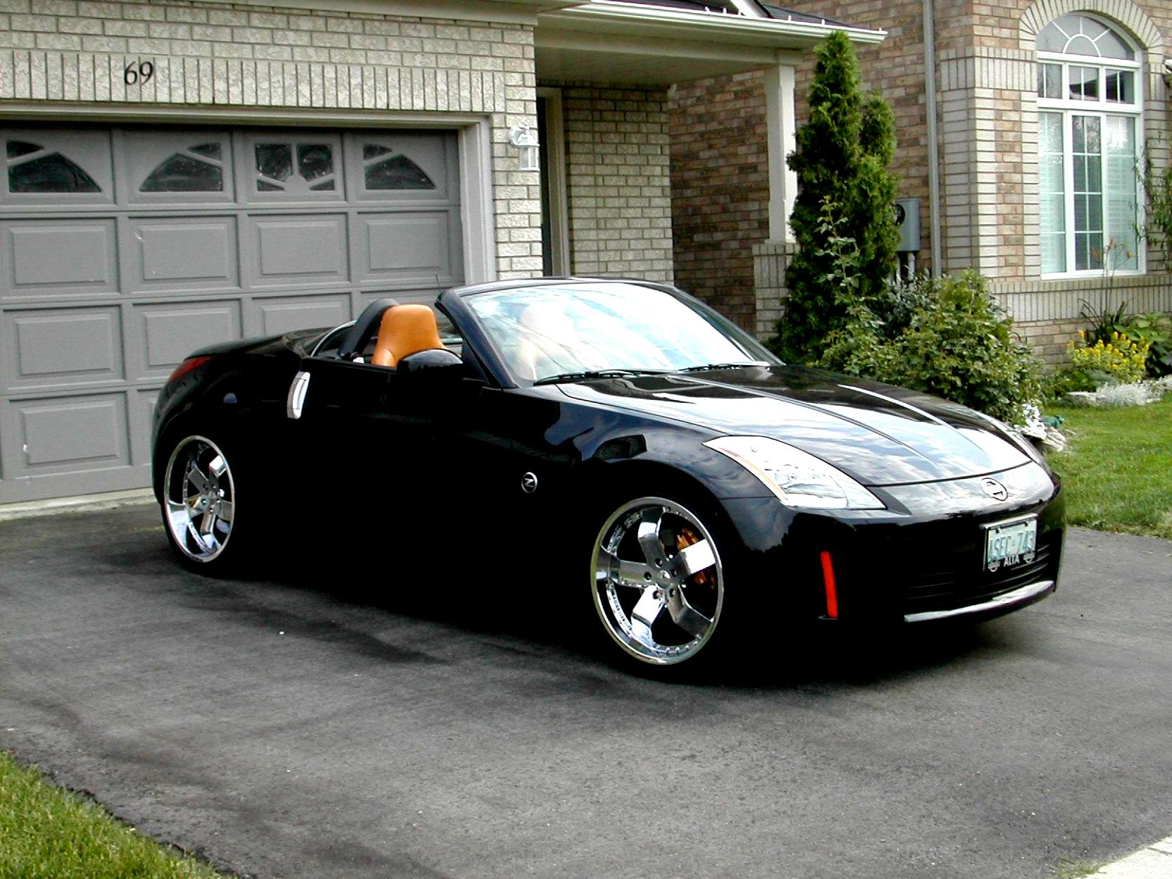 Nissan 350z Roadster 2005 On Motoimg Com