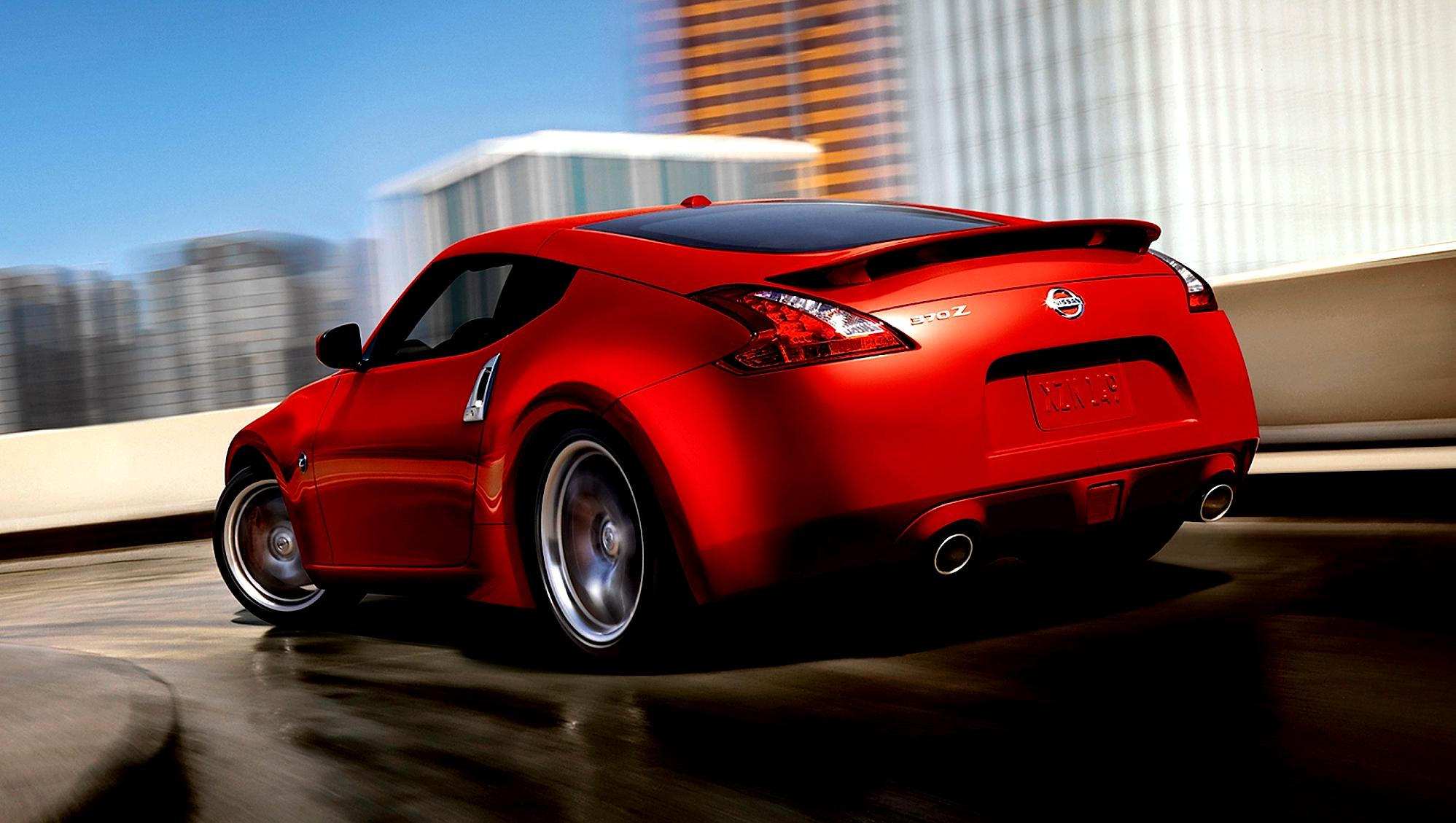 nissan 370z coupe on motoimg