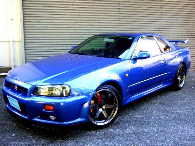 Nissan Skyline Gt R R34 1999 On Motoimg Com